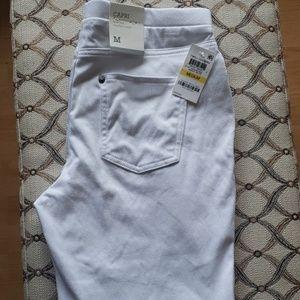 NWT Style&Co capri twill leggings